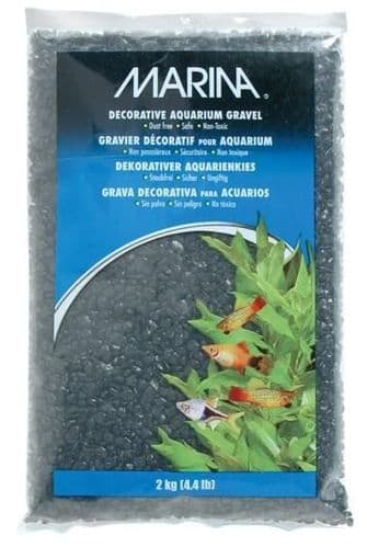 Marina Decorative Aquarium Gravel Black 2kg
